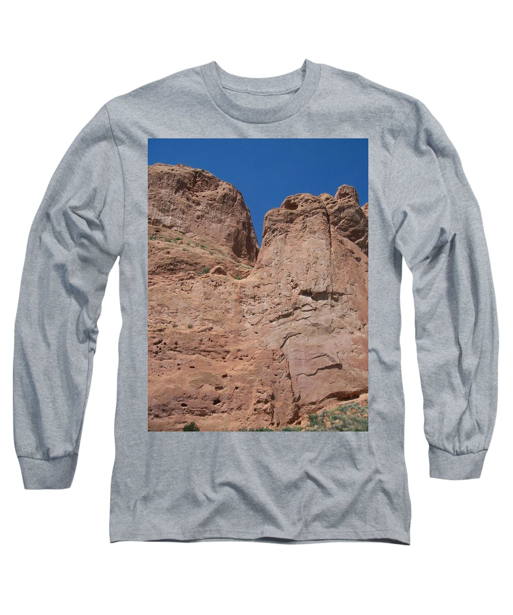 Colorado Long Sleeve T-Shirt featuring the photograph Colorado Redrock by Anita Burgermeister