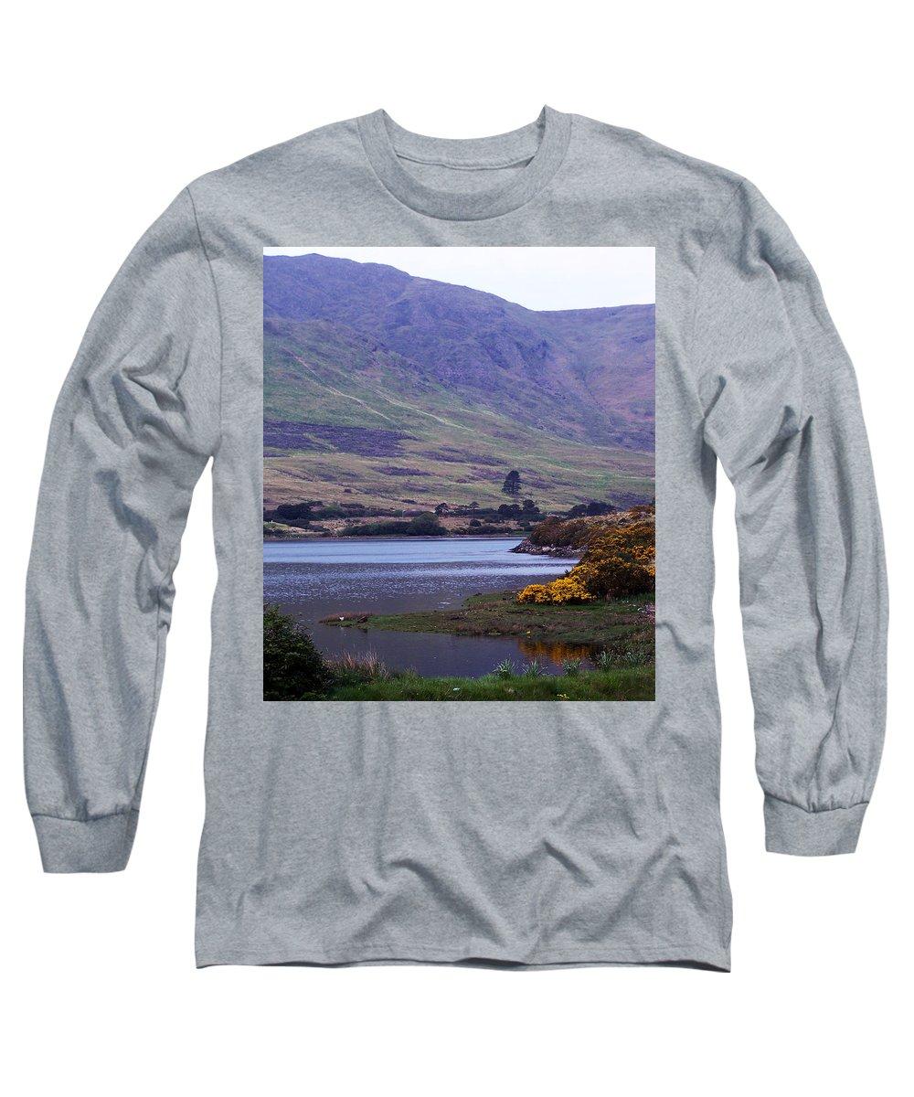 Landscape Long Sleeve T-Shirt featuring the photograph Connemara Leenane Ireland by Teresa Mucha