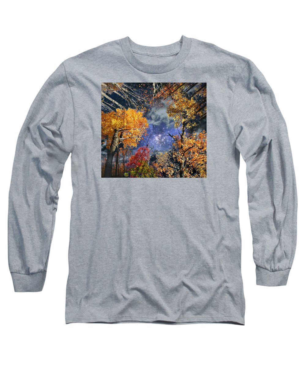 Deep Space Long Sleeve T-Shirt featuring the photograph Deep Canopy by Dave Martsolf