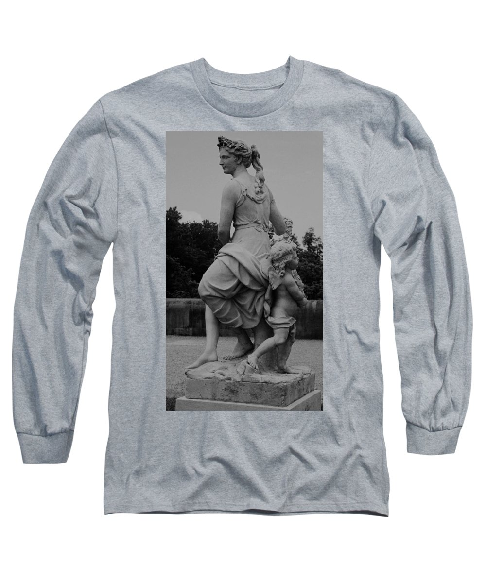 Figurative Long Sleeve T-Shirt featuring the painting Diana by Eric Schiabor