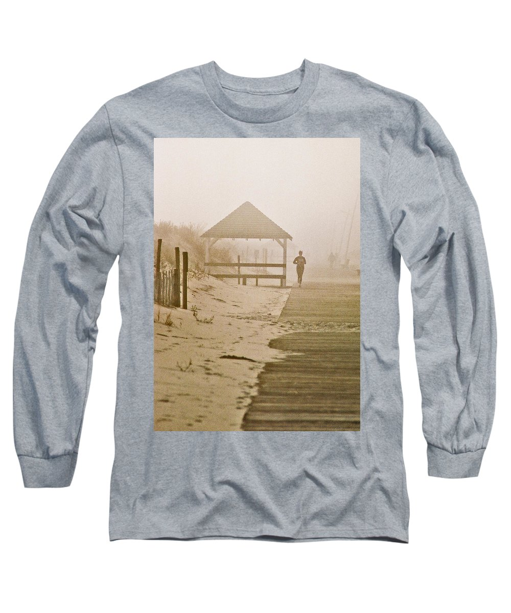 Landscape Long Sleeve T-Shirt featuring the photograph Disappearance by Steve Karol