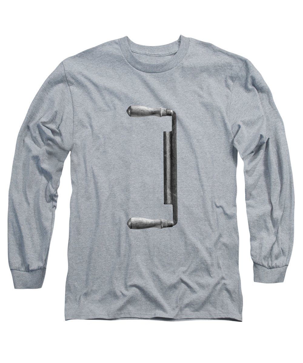 Black Long Sleeve T-Shirt featuring the photograph Draw Knife by YoPedro