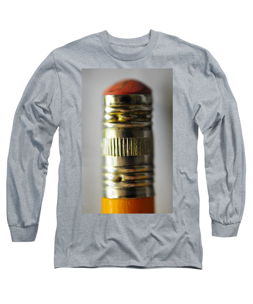 Skip Hunt Long Sleeve T-Shirt featuring the photograph Eraserhead by Skip Hunt