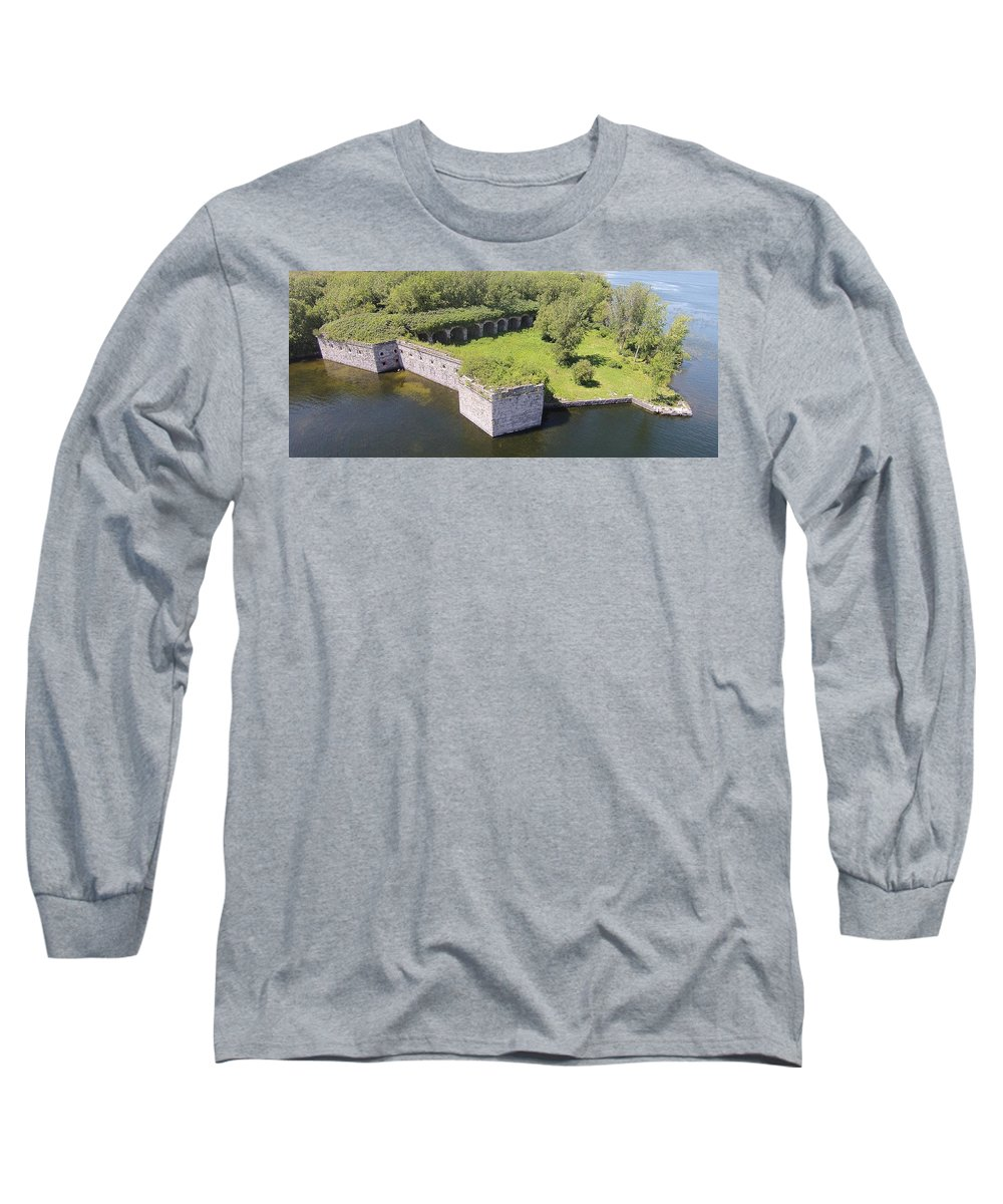 Fort Long Sleeve T-Shirt featuring the photograph Fort Montgomery by Jedidiah Thone