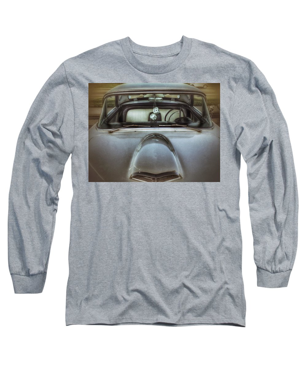 Steering Wheel Photographs Long Sleeve T-Shirts