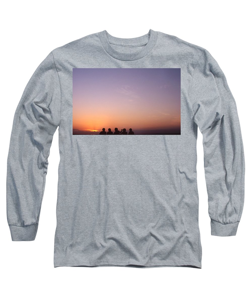 Bahia Long Sleeve T-Shirt featuring the photograph Friends by Patrick Klauss