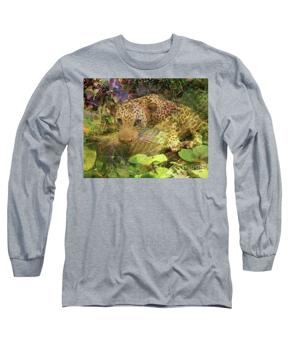 Game Spotting Long Sleeve T-Shirt featuring the digital art Game Spotting by John Beck
