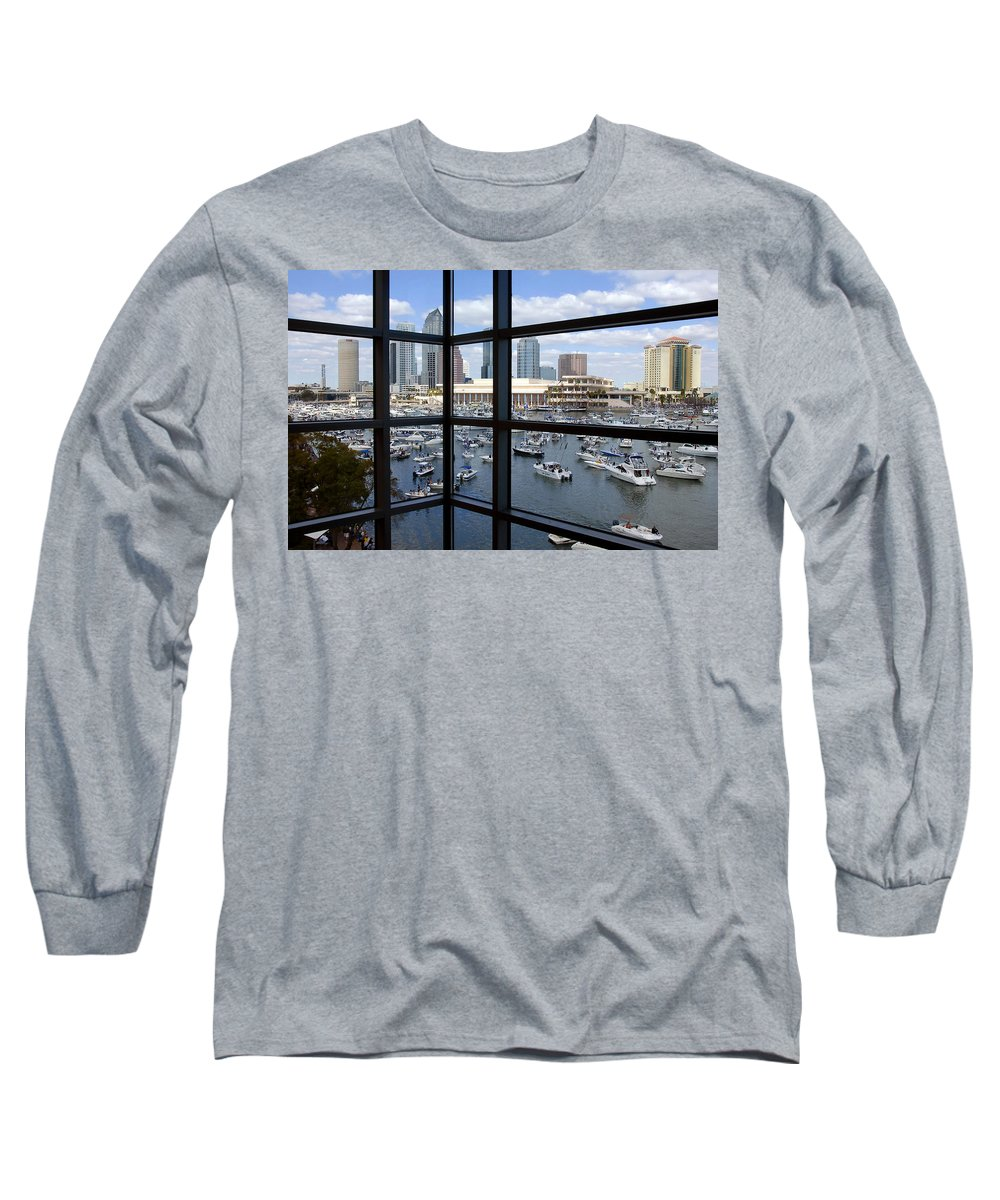 Gasparilla Long Sleeve T-Shirt featuring the photograph Gasparilla Invasion by David Lee Thompson