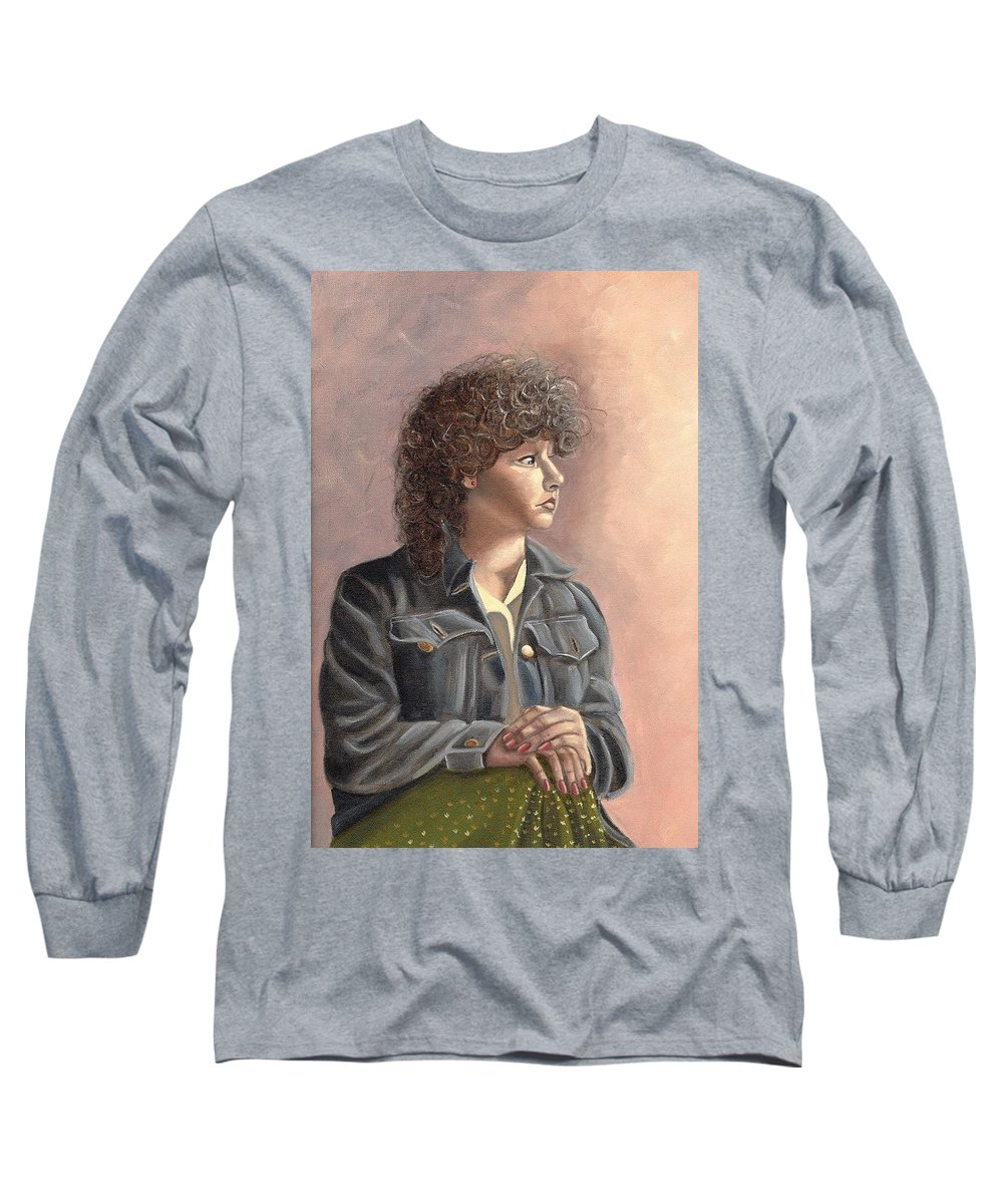 Long Sleeve T-Shirt featuring the painting Grace by Toni Berry
