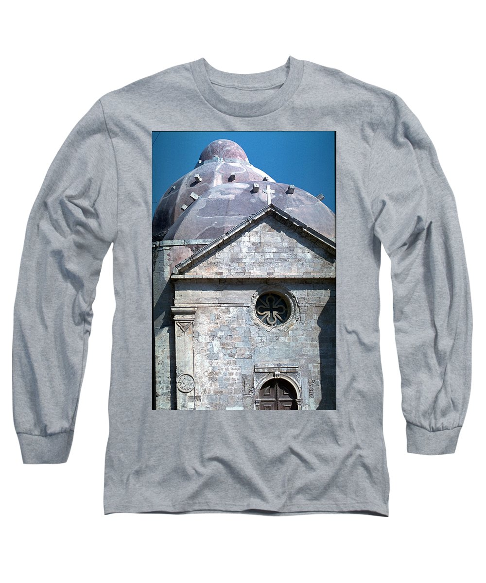 Greek Orthodox Church Long Sleeve T-Shirt featuring the photograph Greek Orthodox Church by Flavia Westerwelle