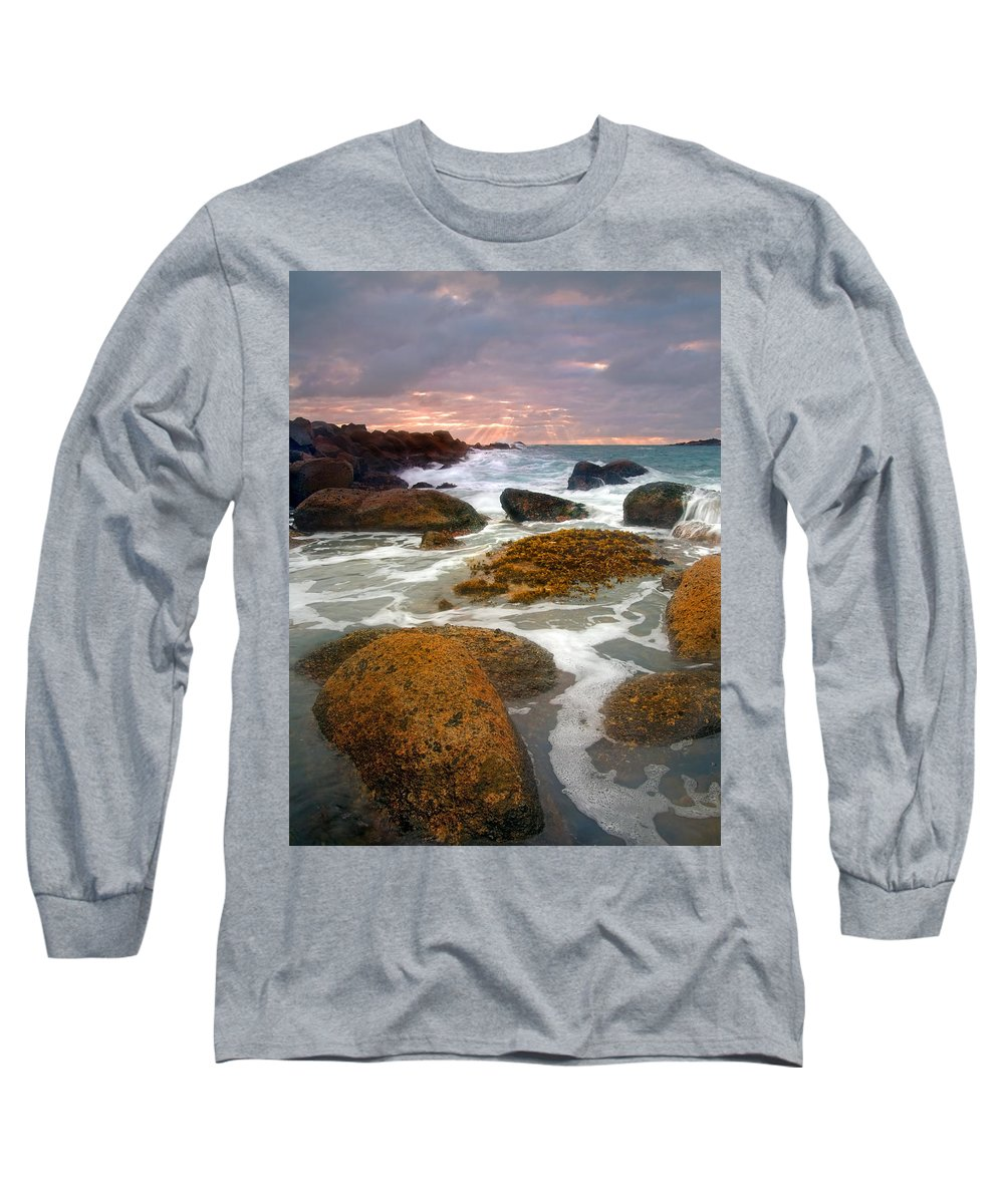Sunrise Long Sleeve T-Shirt featuring the photograph Heavenly Dawning by Mike Dawson