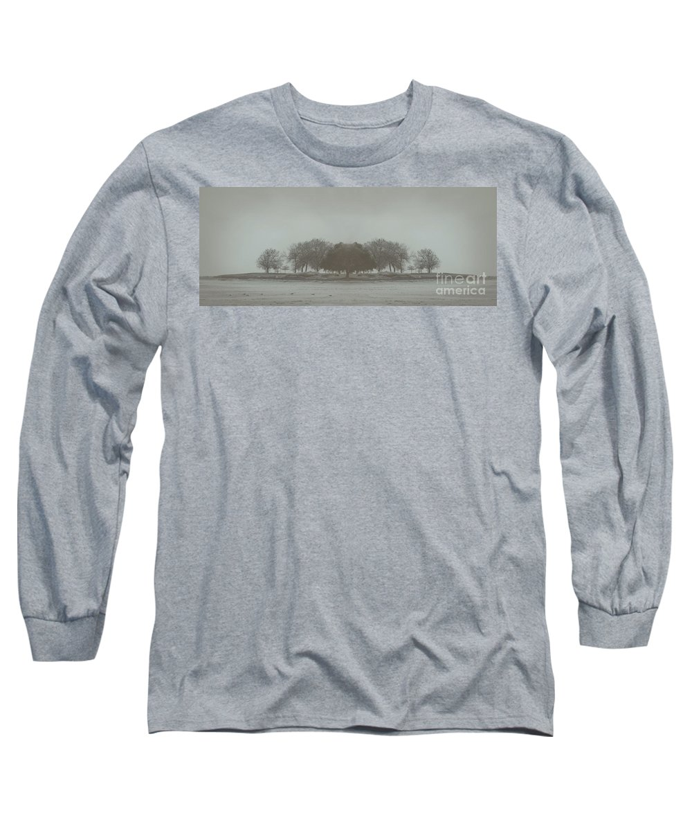 Landscape Long Sleeve T-Shirt featuring the photograph I Will Walk You Home by Dana DiPasquale