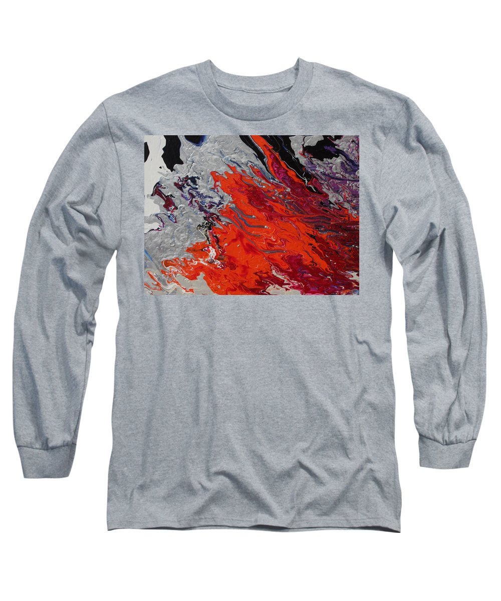 Fusionart Long Sleeve T-Shirt featuring the painting Ignition by Ralph White