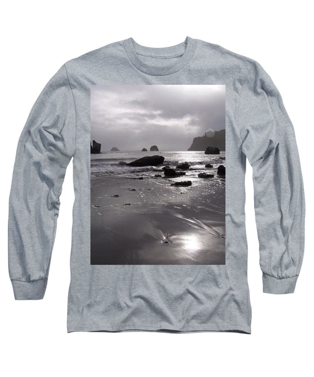 Beach Long Sleeve T-Shirt featuring the photograph Indian Beach by Gale Cochran-Smith