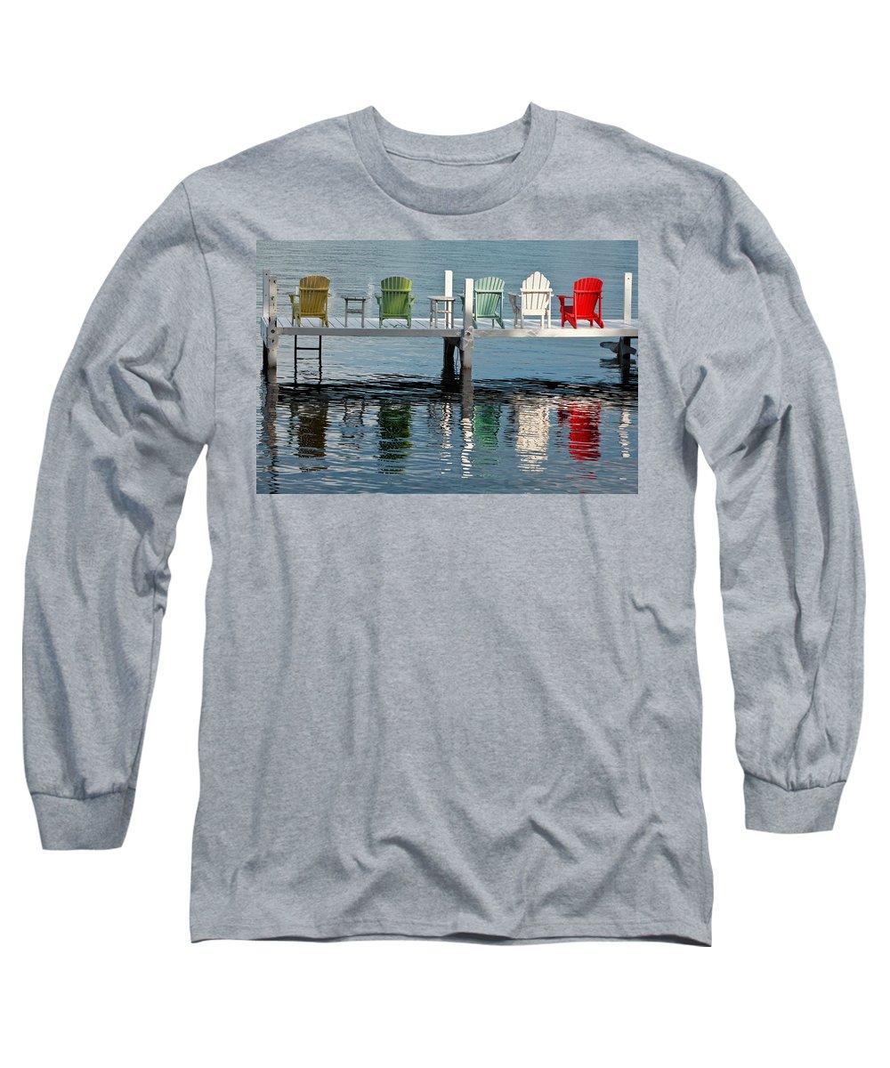 Lake Geneva Long Sleeve T-Shirts