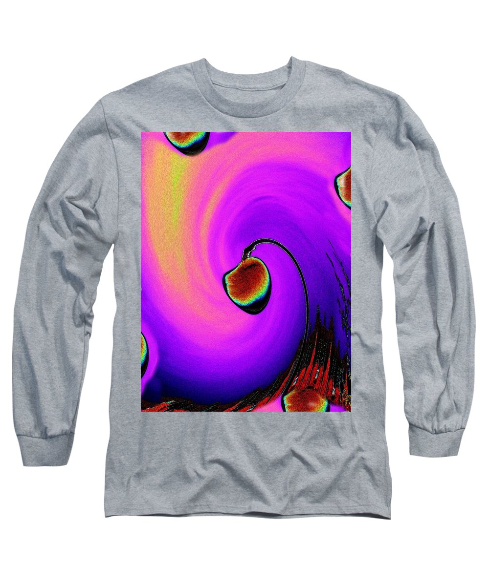 Lamp Long Sleeve T-Shirt featuring the photograph Lamp by Tim Allen