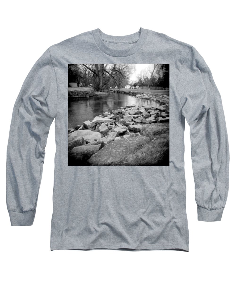 Photograph Long Sleeve T-Shirt featuring the photograph Le Tort Spring Run by Jean Macaluso
