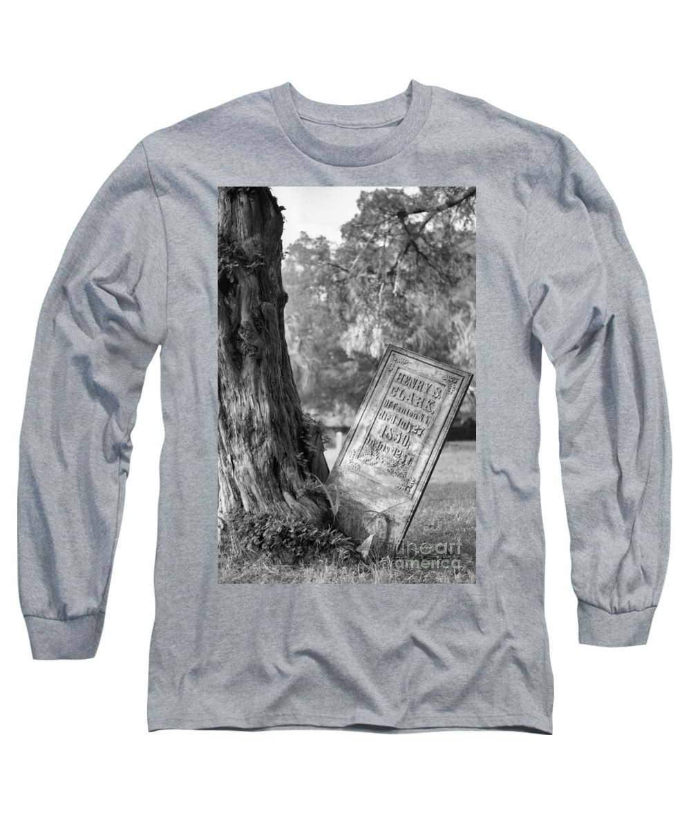 Graves Long Sleeve T-Shirt featuring the photograph Life After Death by Richard Rizzo