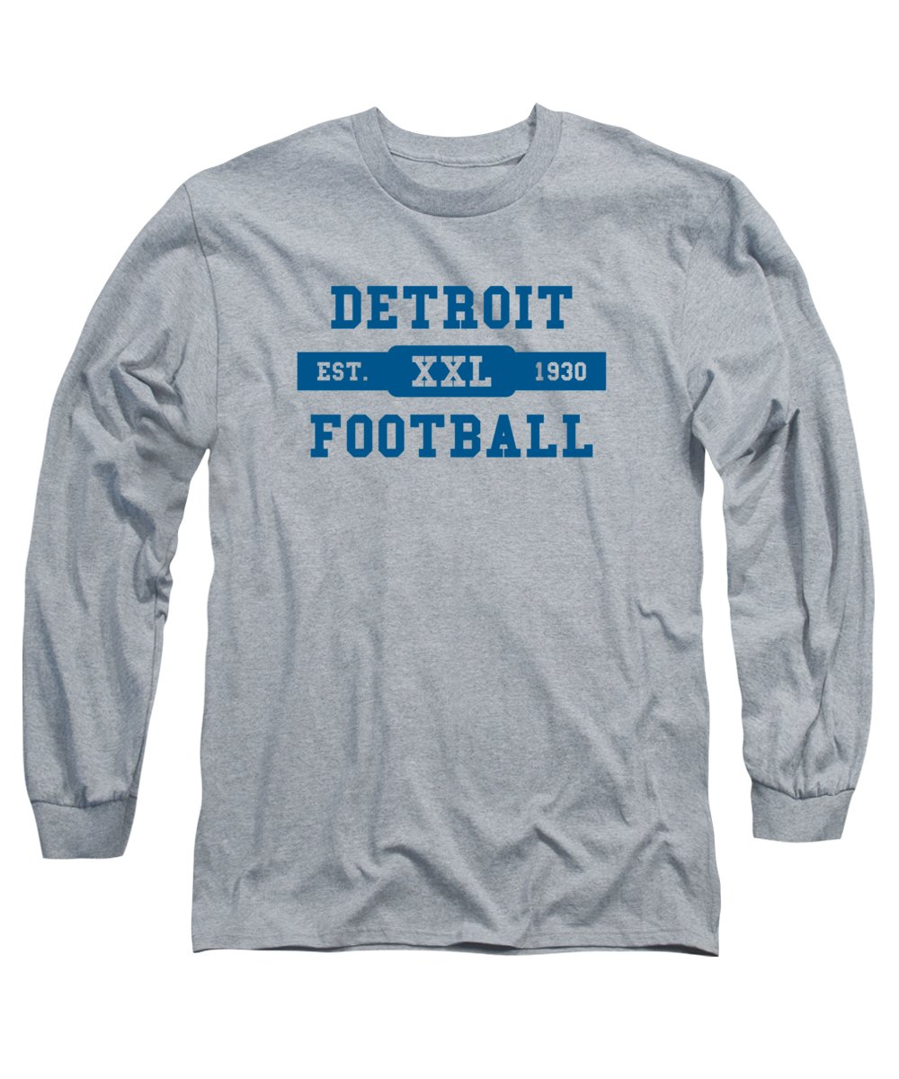 Detroit Lions Long Sleeve T-Shirts