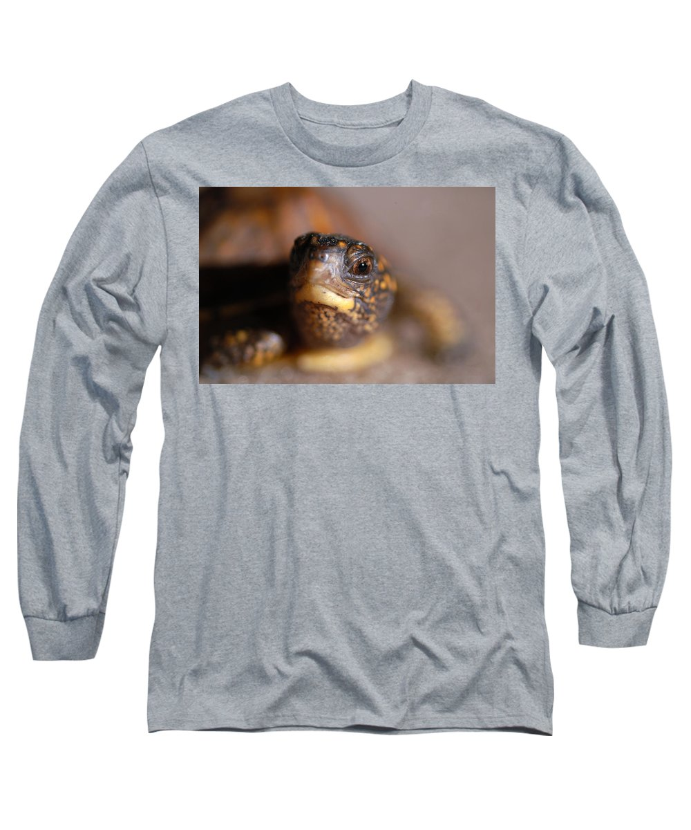 Clay Long Sleeve T-Shirt featuring the photograph Lucky by Clayton Bruster