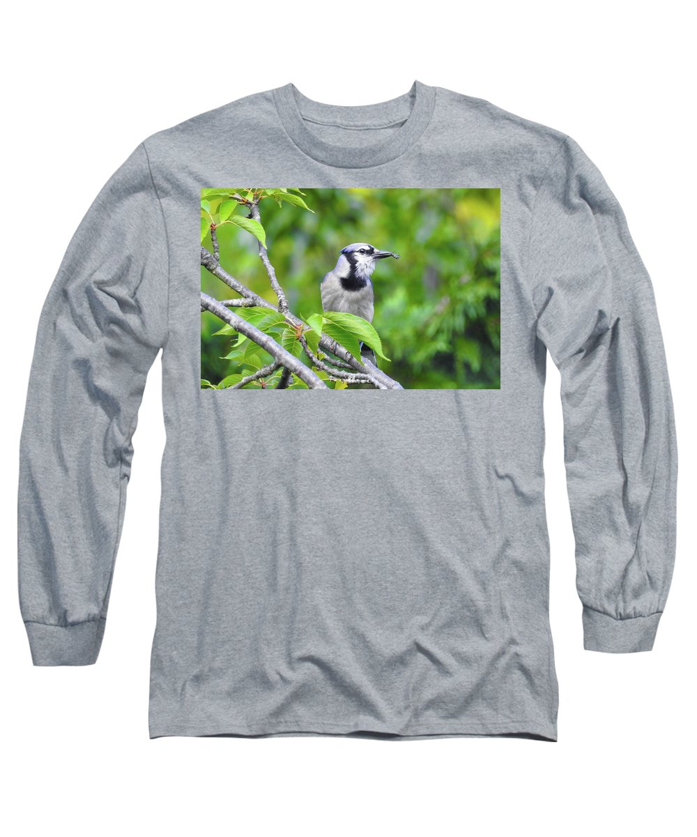 Long Sleeve T-Shirt featuring the photograph Lunch by Tony Umana