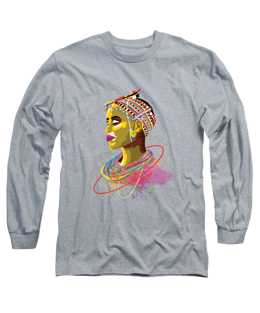 Elderly Paintings Long Sleeve T-Shirts