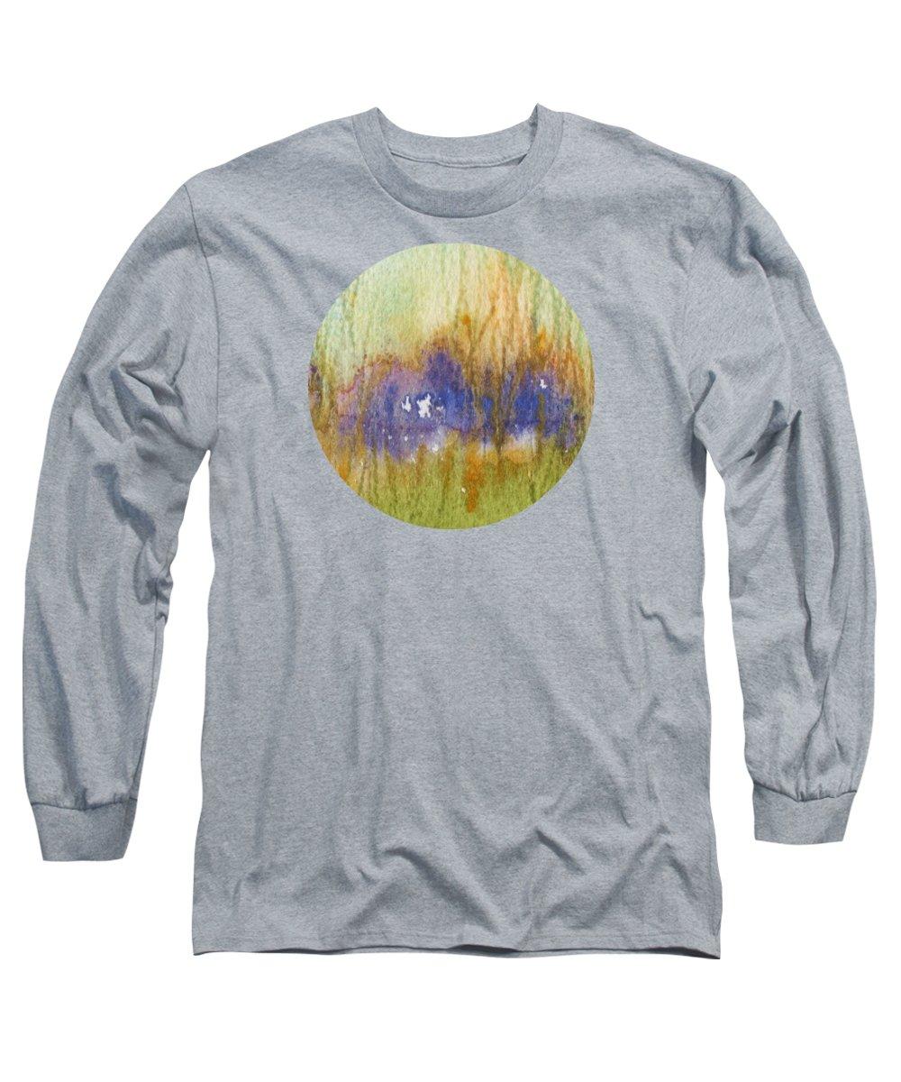 Prairie Grass Paintings Long Sleeve T-Shirts