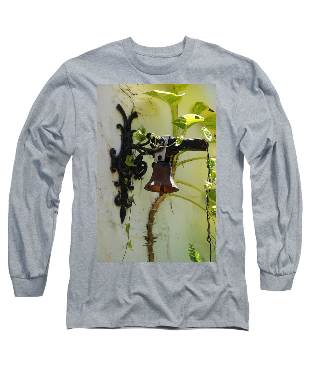 Architecture Long Sleeve T-Shirt featuring the photograph Miami Monastery Bell by Rob Hans