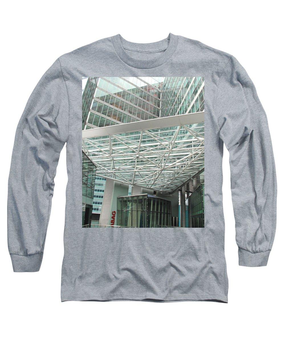 Vienna Long Sleeve T-Shirt featuring the photograph Modern Vienna by Ian MacDonald