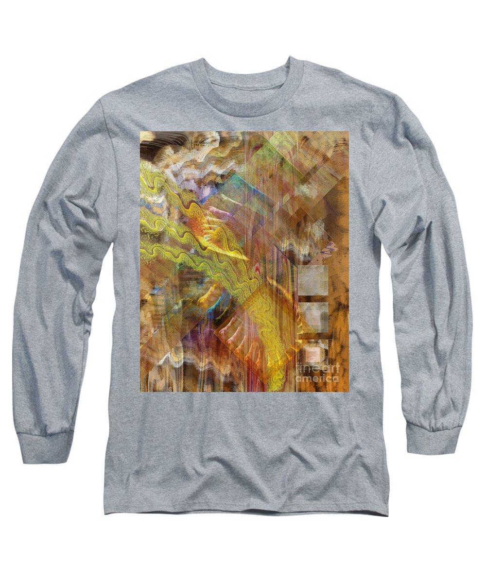 Morning Dance Long Sleeve T-Shirt featuring the digital art Morning Dance by John Beck