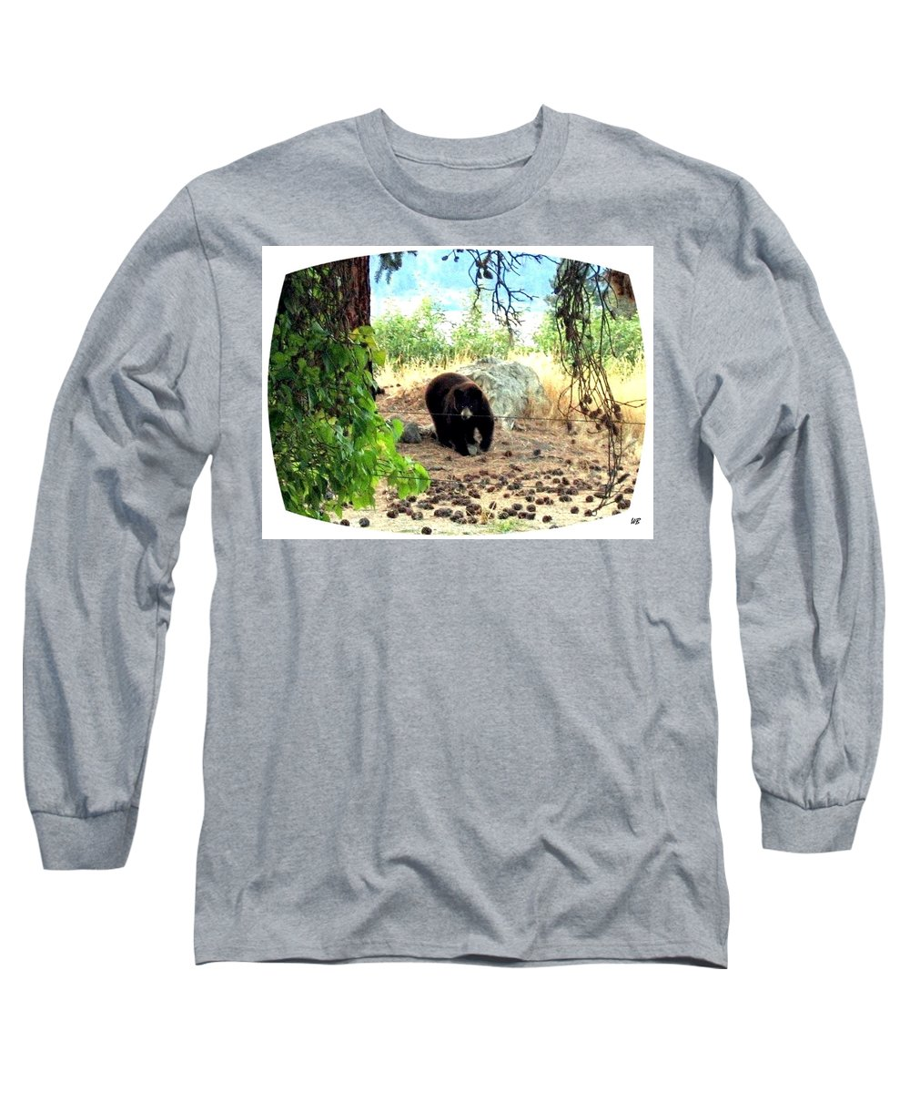 Bear Long Sleeve T-Shirt featuring the photograph Mother Bear by Will Borden