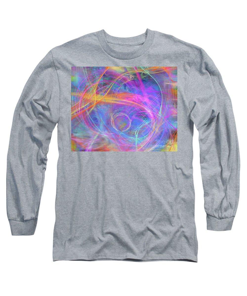 Mystic Beginning Long Sleeve T-Shirt featuring the digital art Mystic Beginning by John Beck