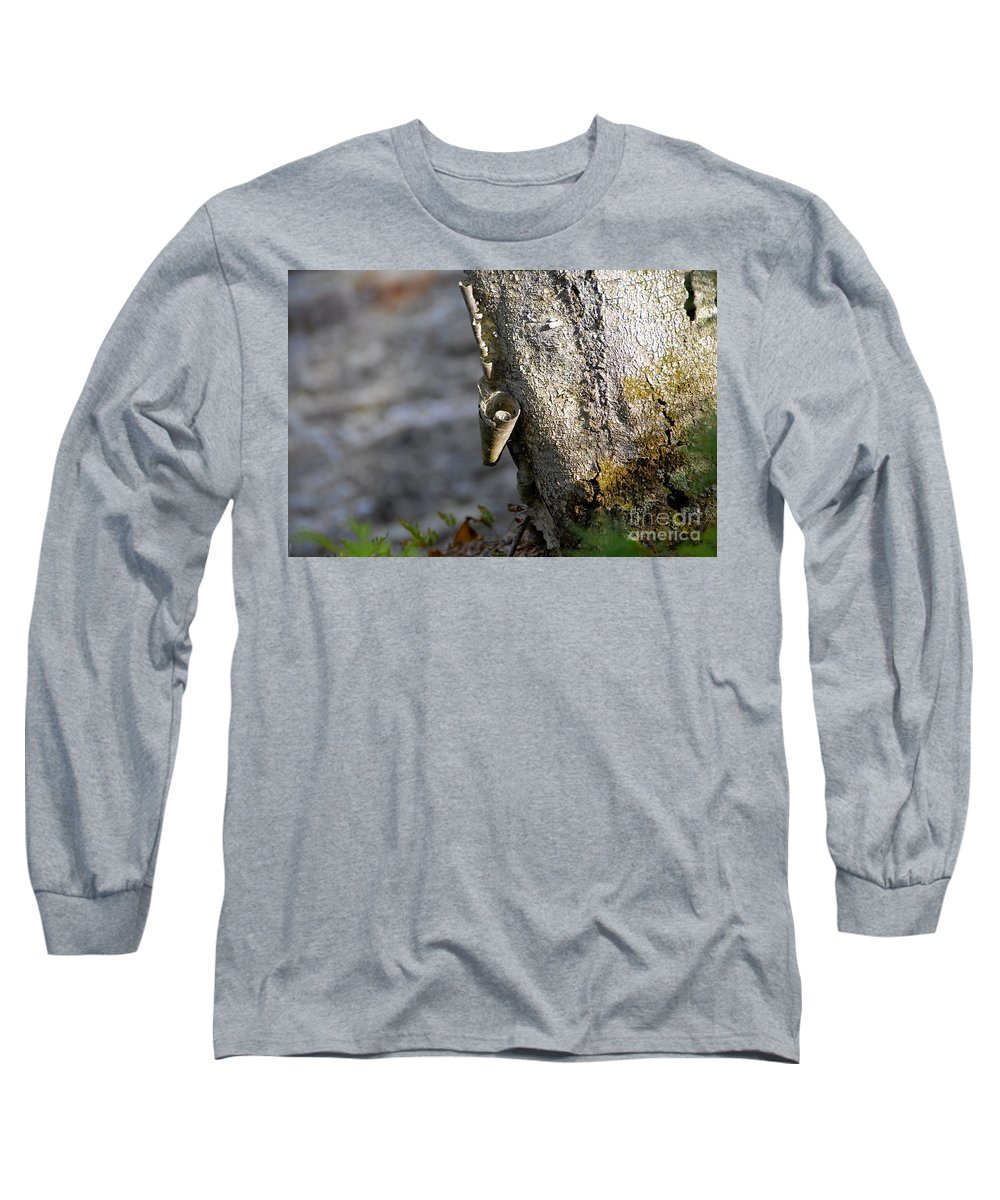 Wood Long Sleeve T-Shirt featuring the photograph Nature's Detail by David Lee Thompson