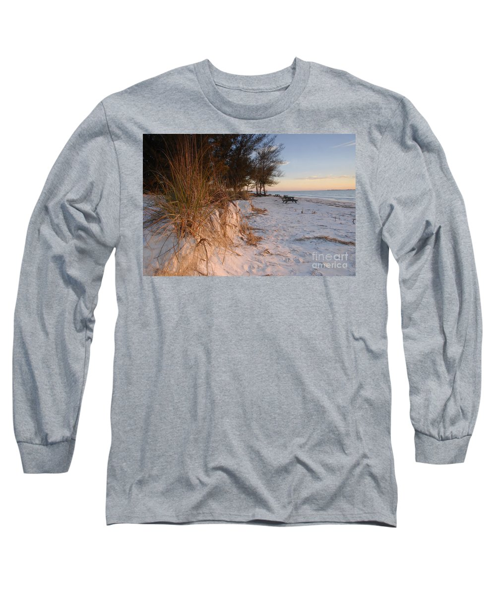 North Beach Long Sleeve T-Shirt featuring the photograph North Beach by David Lee Thompson