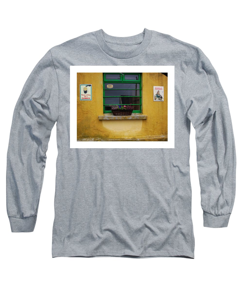 Ireland Long Sleeve T-Shirt featuring the photograph Nothing Like A Guinness by Tim Nyberg