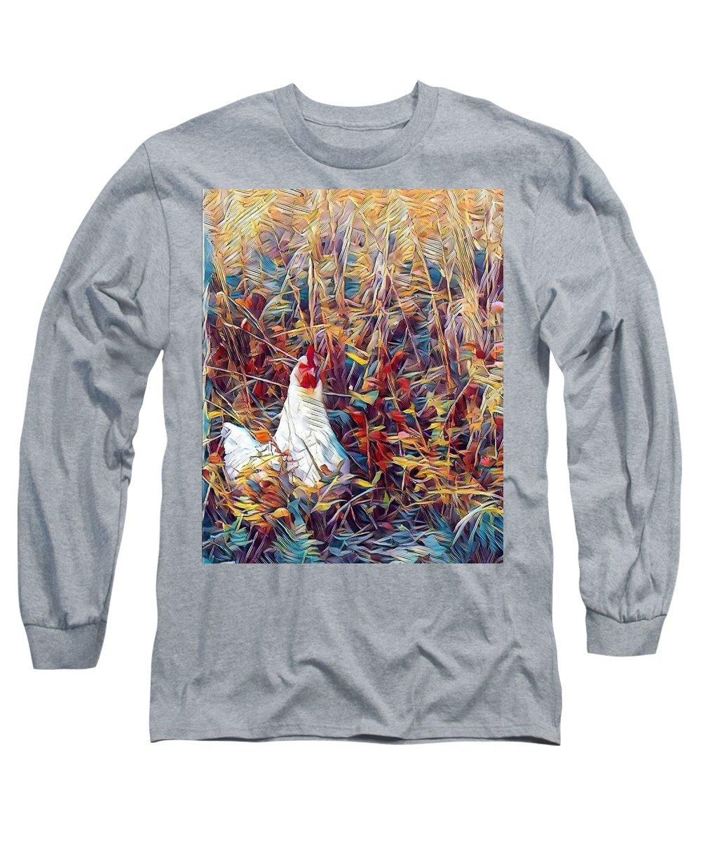 Digital Long Sleeve T-Shirt featuring the digital art Nugget by Caryl J Bohn