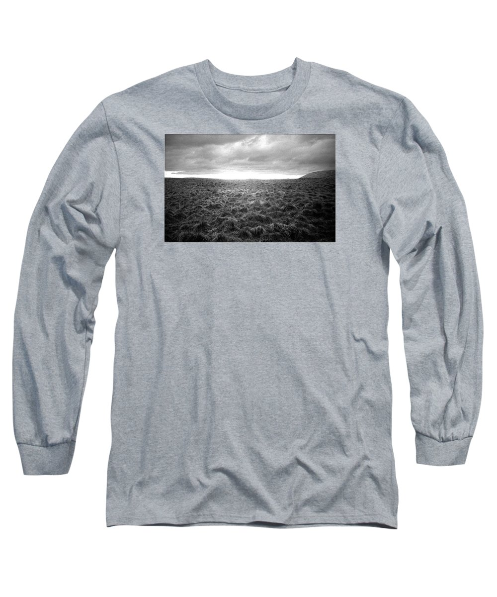 Landscape Long Sleeve T-Shirt featuring the photograph Opening by Ted M Tubbs