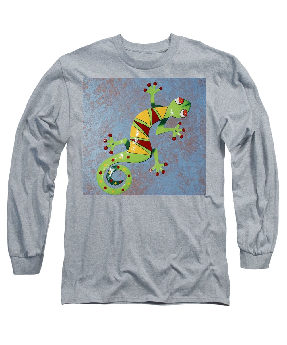 Southwestern Art Long Sleeve T-Shirt featuring the photograph Painted Liz by Rob Hans