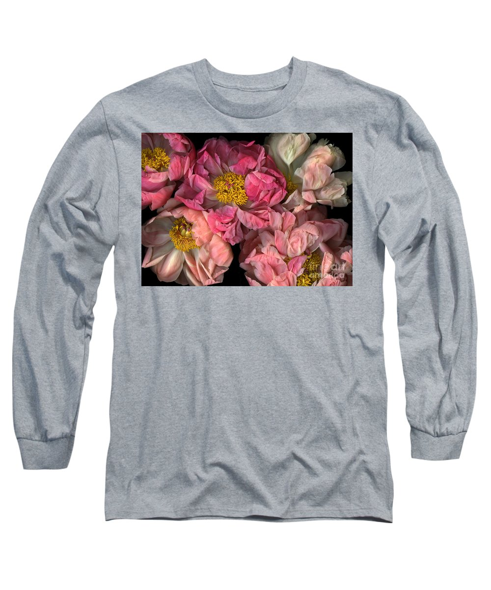 Cslanec Long Sleeve T-Shirt featuring the photograph Petticoats by Christian Slanec