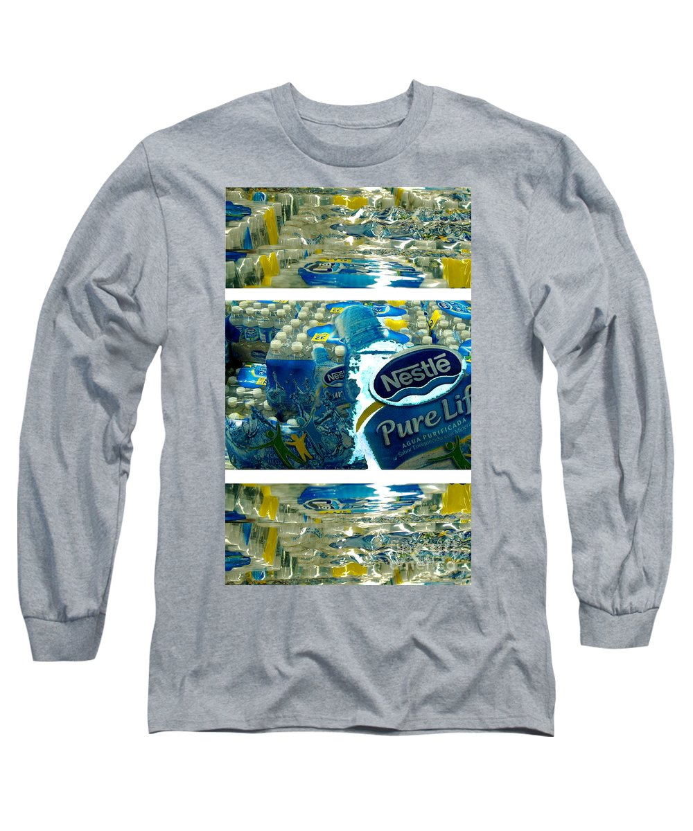 Water Long Sleeve T-Shirt featuring the photograph Pure Life by Ze DaLuz