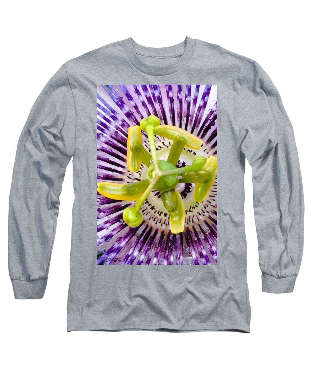 Passion Long Sleeve T-Shirt featuring the photograph Radial Arms by Christopher Holmes