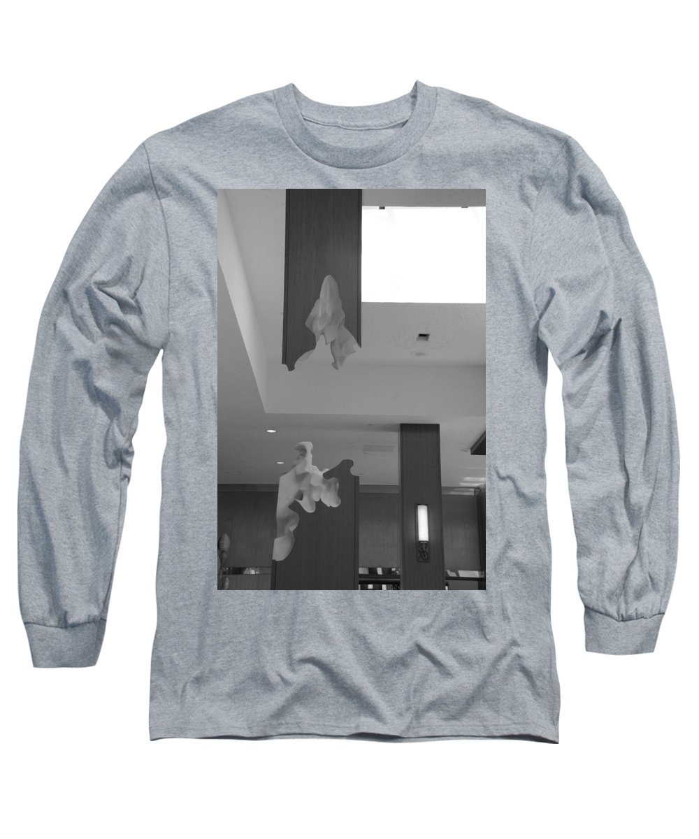 Abstract Long Sleeve T-Shirt featuring the photograph Rotton Stanchon by Rob Hans