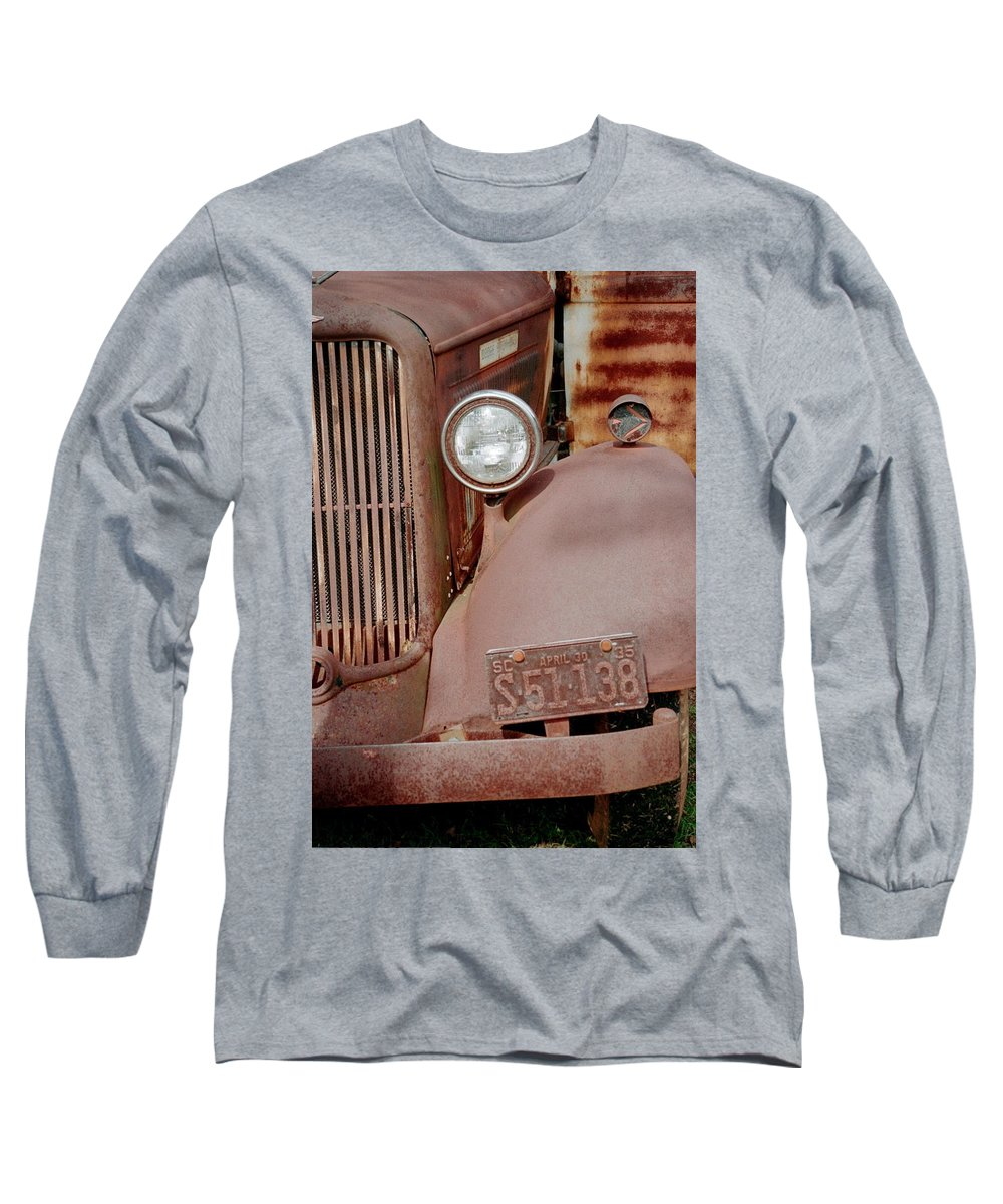 Car Long Sleeve T-Shirt featuring the photograph Rusty by Flavia Westerwelle