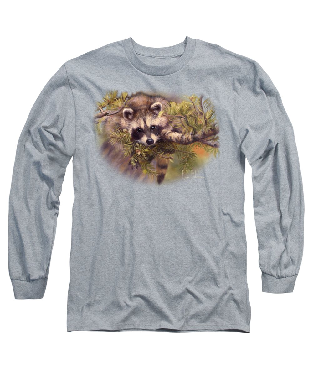 Raccoon Long Sleeve T-Shirts