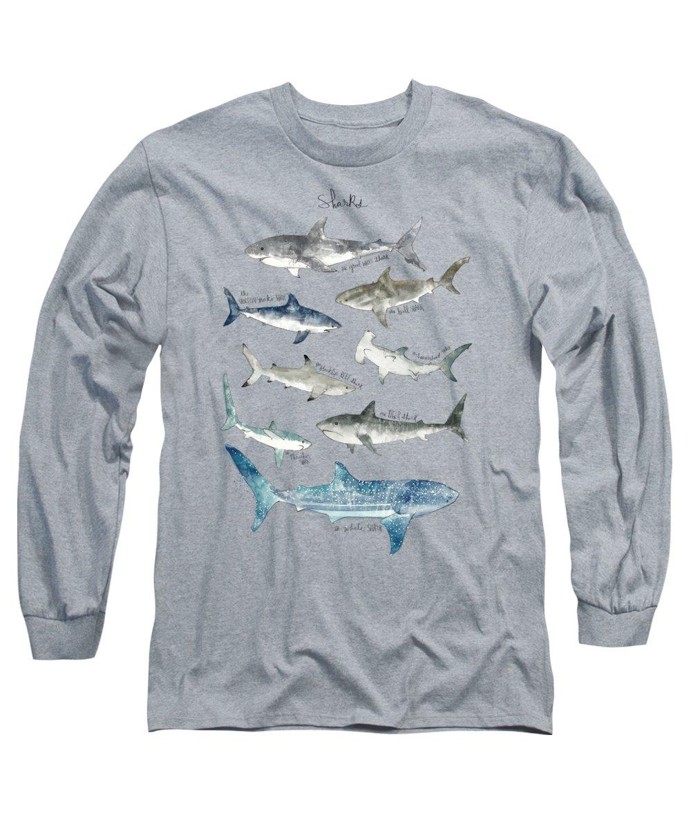 Fish Paintings Long Sleeve T-Shirts