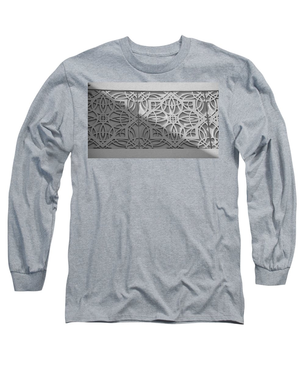 Black And White Long Sleeve T-Shirt featuring the photograph Sliced by Rob Hans