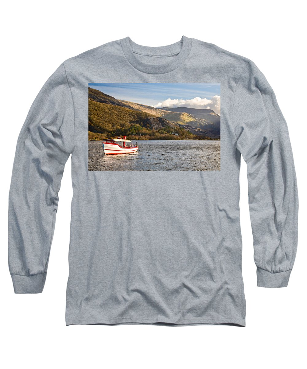 Snowdonia Long Sleeve T-Shirt featuring the photograph Snowdon Star by Dave Bowman