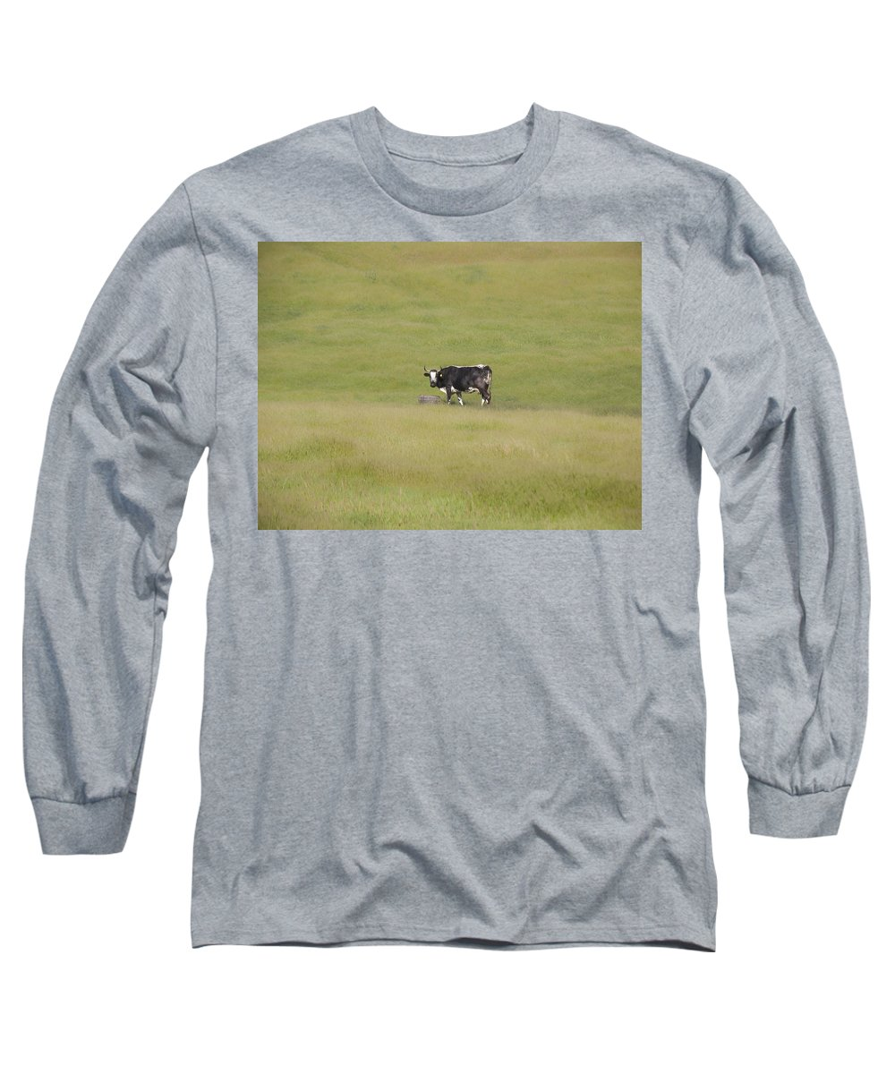 Landscapes Long Sleeve T-Shirt featuring the photograph Solitude by Karen W Meyer