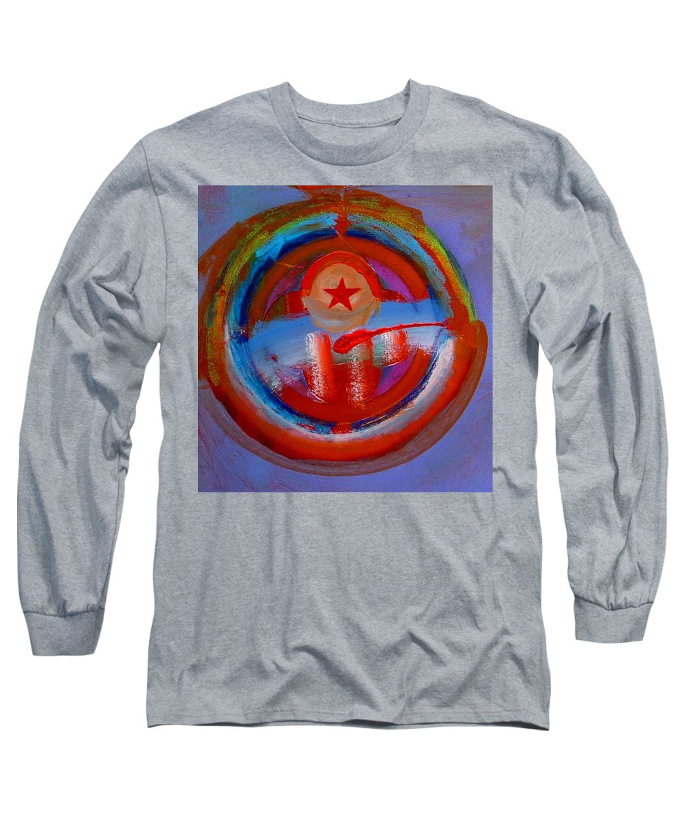 Love Long Sleeve T-Shirt featuring the painting Star Of The Sea by Charles Stuart