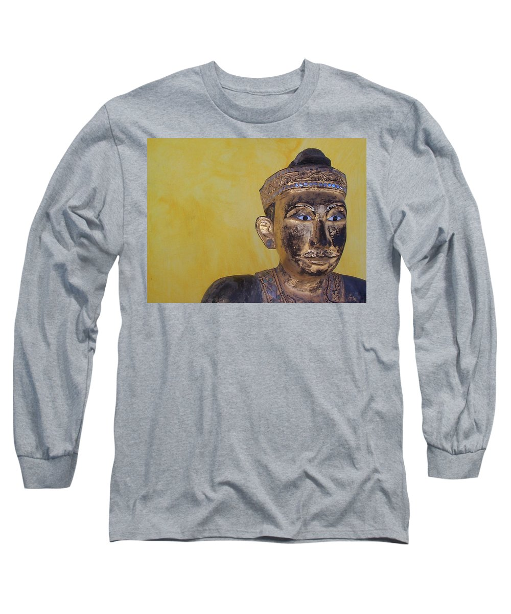Charity Long Sleeve T-Shirt featuring the photograph Statue by Mary-Lee Sanders